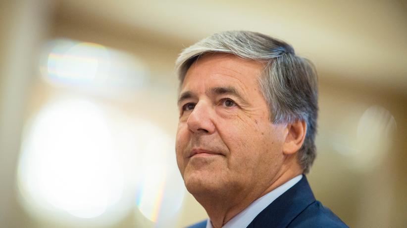 Euro-Krise: Der frühere Vorstandsvorsitzende der Deutschen Bank, Josef Ackermann