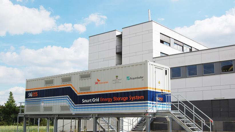 Energiewende: Die ersten Mega-Batterien kommen