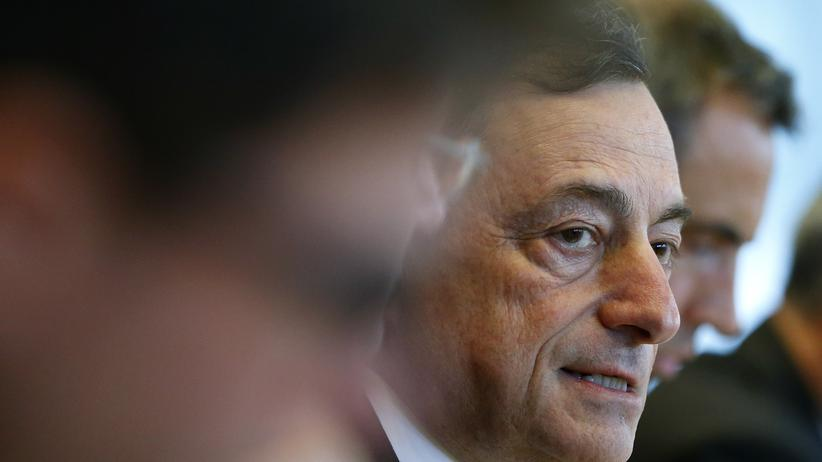 Euro-Zone: EZB-Präsident Mario Draghi