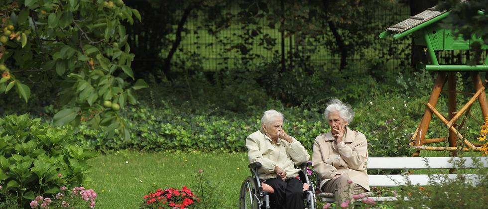 Rentnerinnen in Berlin