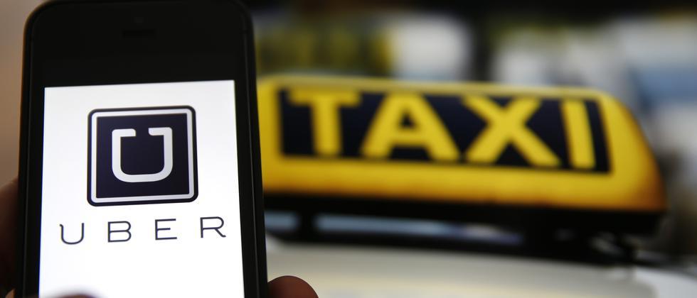 Der Mitfahrdienst Uber machen den etablierten Taxis Konkurrenz.