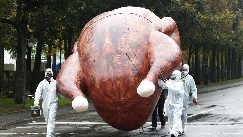 Proteste gegen TTIP in München