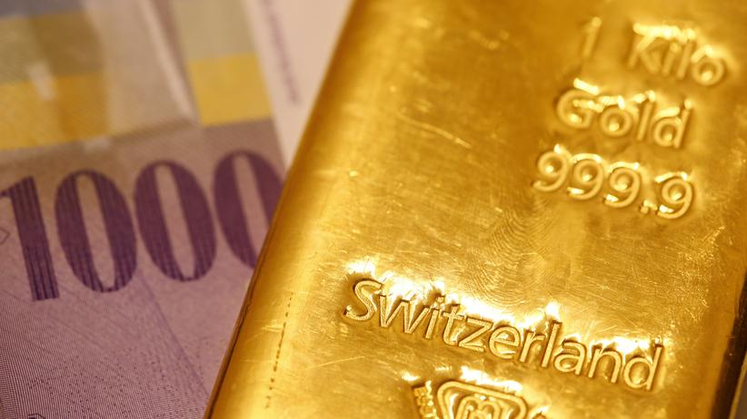 Gold Schweiz GoldInitiative