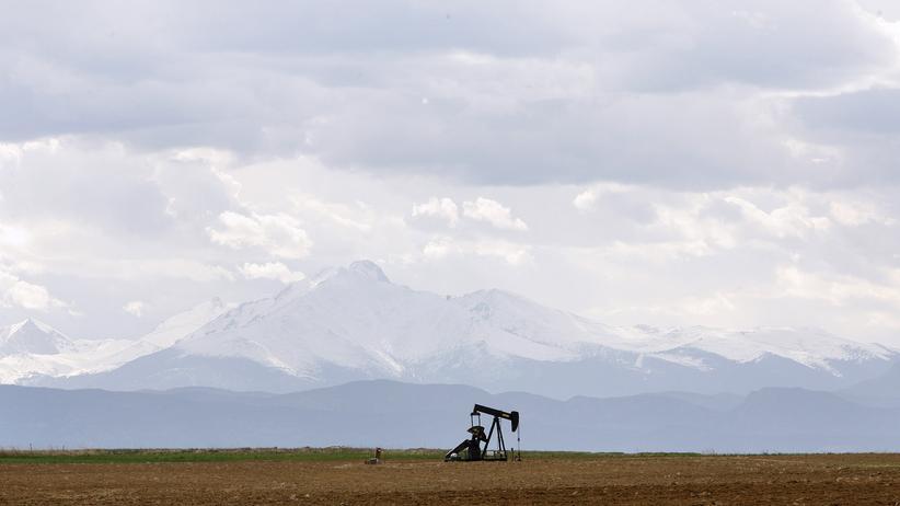 IEA-Weltenergieausblick: Eine Ölpumpe in der Nähe von Denver, Colorado.