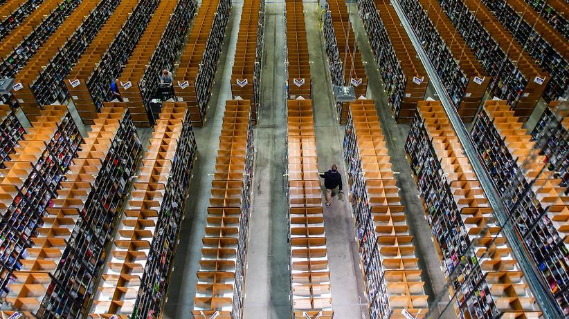 Onlineversand: Bei Amazon in Brieselang, Brandenburg (Archiv)