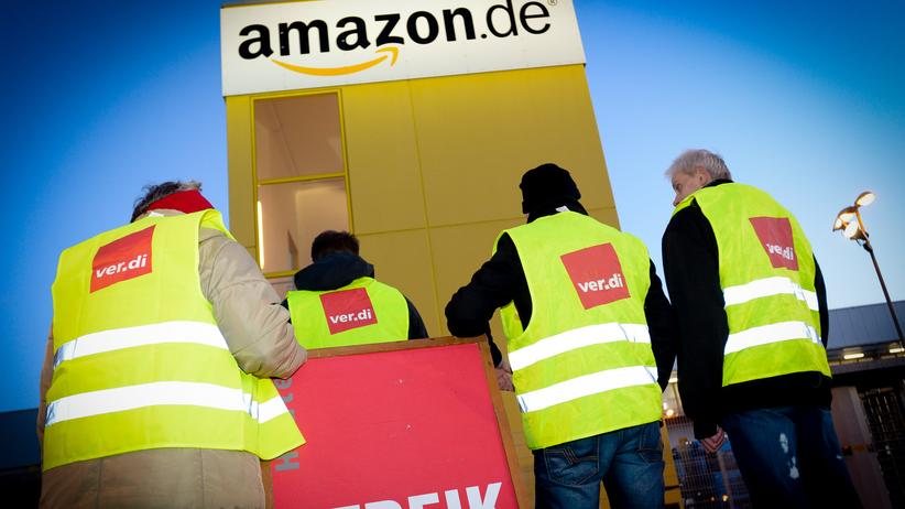 Versandhandel: Streik bei Amazon in Leipzig am 8.12.2014