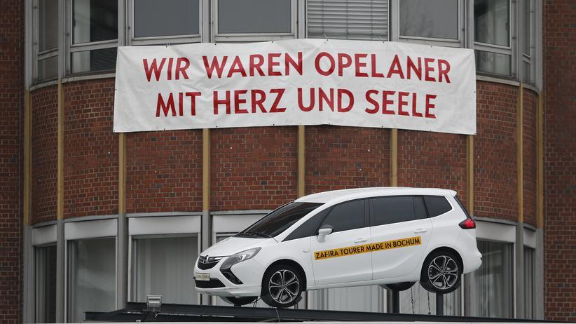 Das Opel-Werk in Bochum an seinem letzten Tag
