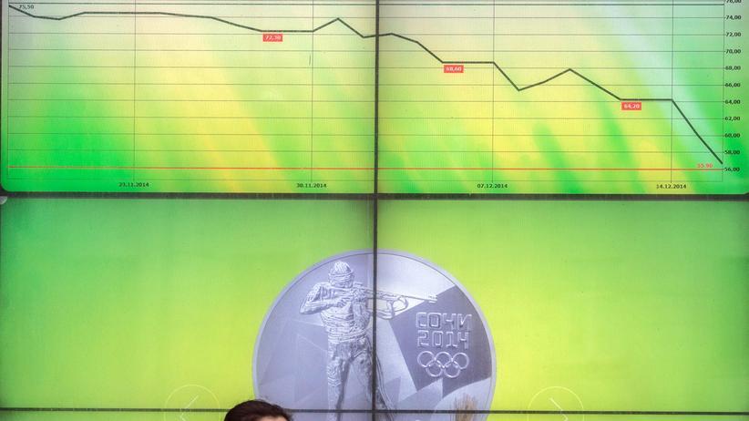 Wirtschaft, Russland, Russland, Dollar, Konjunktur, Leitzins, Notenbank, Rubel, Sommer, US-Dollar, Währung, Ölpreis, Unternehmen