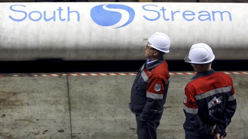 Gasversorgung: Russland stoppt den Bau der South-Stream-Pipeline