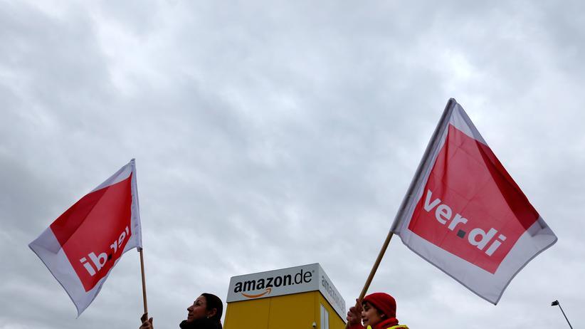 Arbeitskampf: Amazon-Arbeiter streiken wieder
