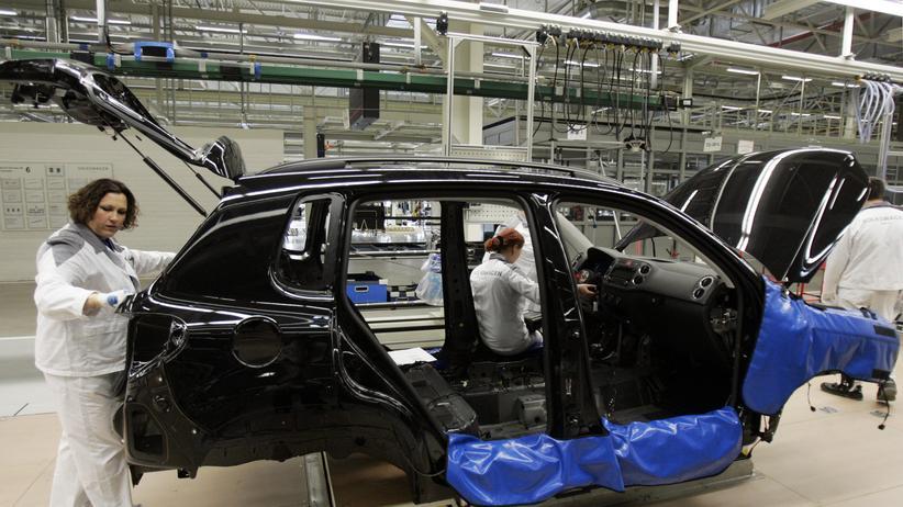 Sanktionen: VW-Werk im russischen Kaluga