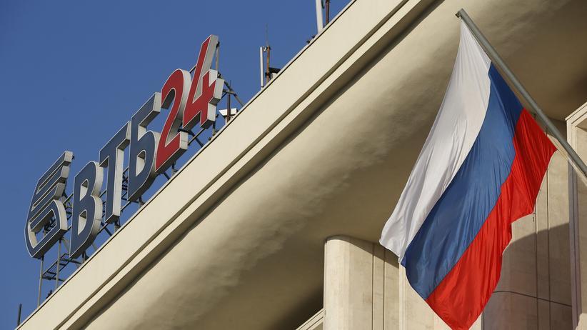 Russland: Staat hilft zweitgrößter Bank mit Milliarden