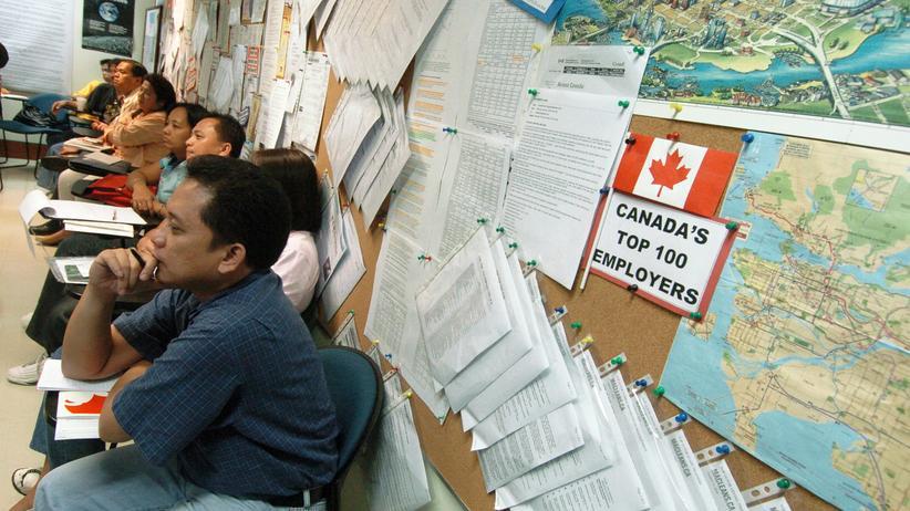 Filipinos, die nach Kanada auswandern wollen, besuchen in Manila einen Vorbereitungskurs (Archivbild).