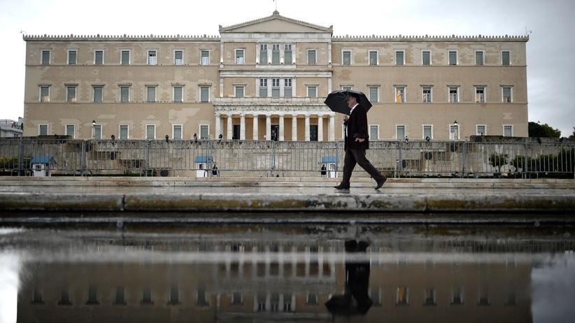 Griechenland Merkel Schaeuble