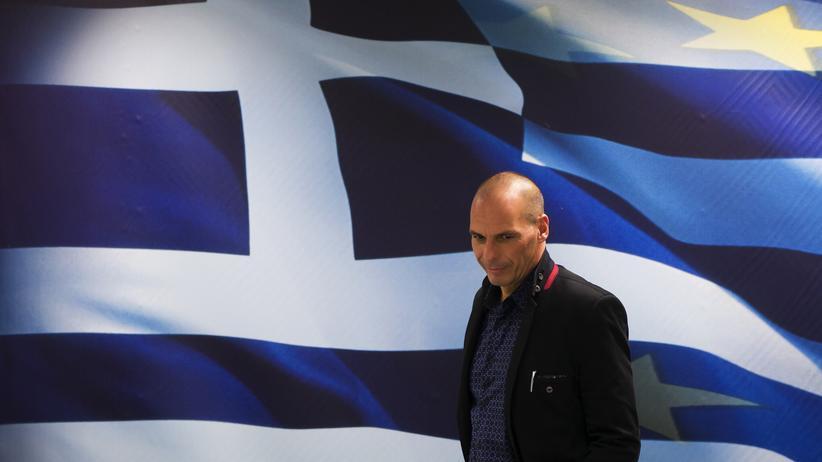 Griechenland: Griechenlands neuer Finanzminister Yanis Varoufakis am Mittwoch in Athen