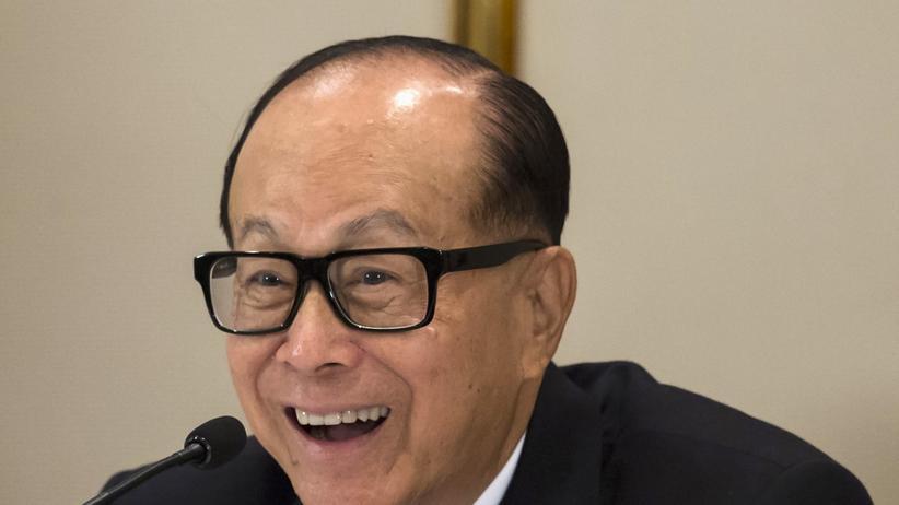 Li Ka-shing ist einer der reichsten Männer Asiens.