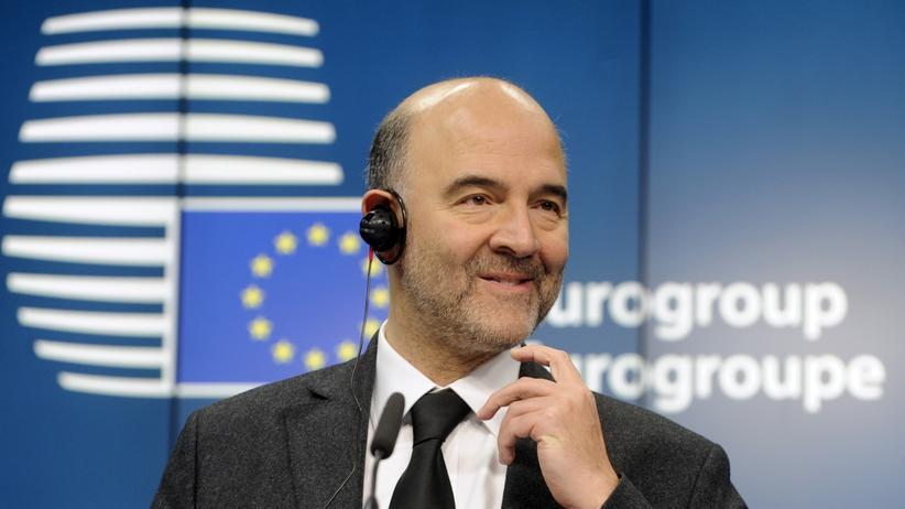 EU-Währungskommissar Pierre Moscovici