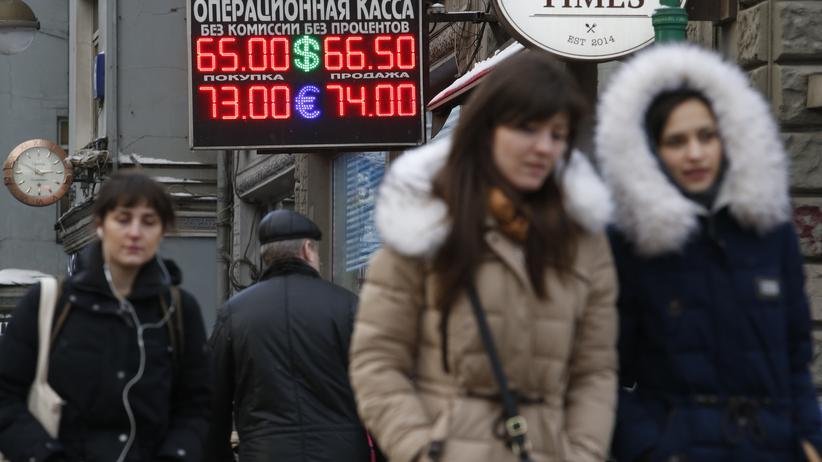 Russland Kreditwürdigkeit Wirtschaftskrise Standard & Poor's