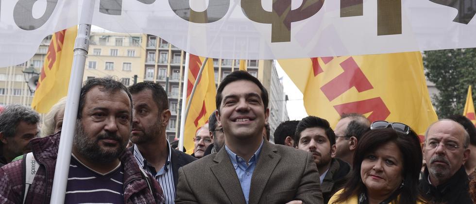 Alexis Tsipras Syriza Griechenland Athen
