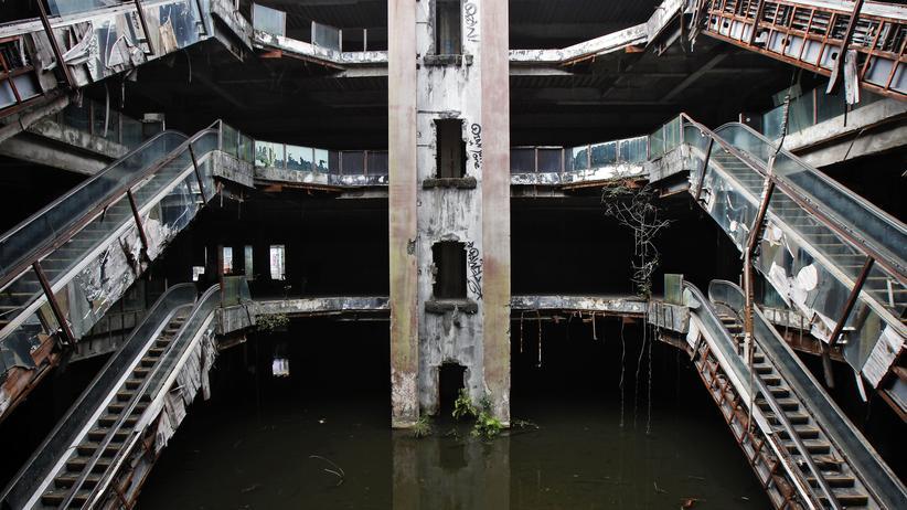 Bangkok : Fischen im Einkaufszentrum