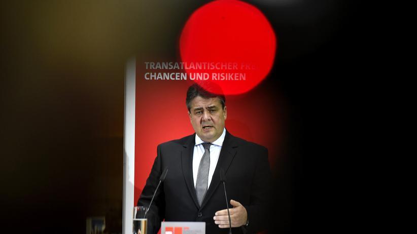 Sigmar Gabriel TTIP
