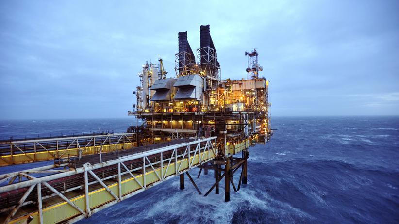 Ölpreis: Wirtschaft, Ölpreis, Schottland, Erdöl, Nordsee, Ölpreis, Shell AG, Esso, BP, Großbritannien