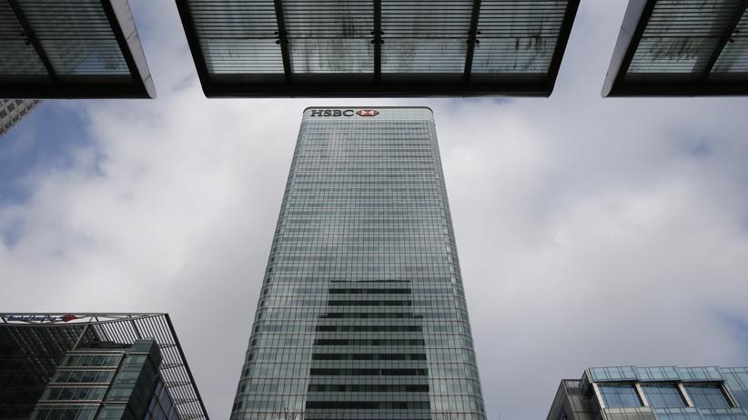 Der Hauptsitz von HSBC in London (Archiv)
