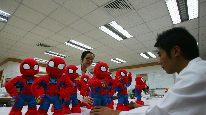 Spielzeug aus China: Gift im Teddy