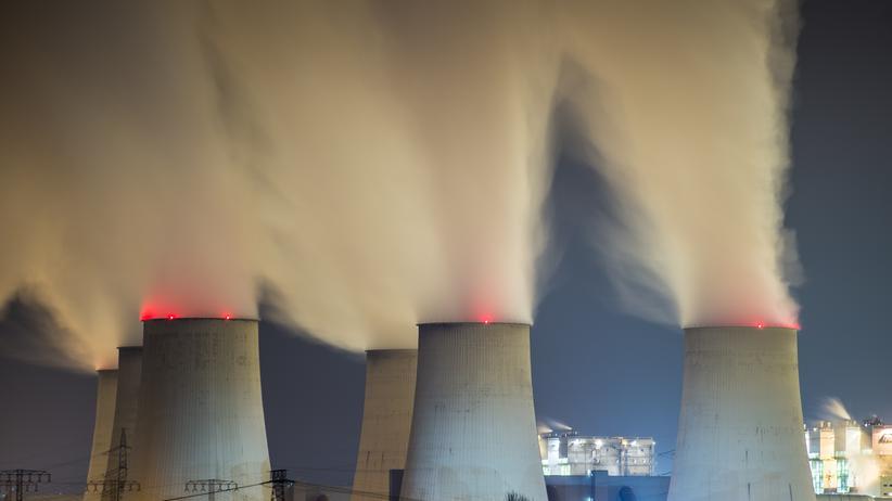 Energiewende: Braunkohlekraftwerke in Brandenburg.