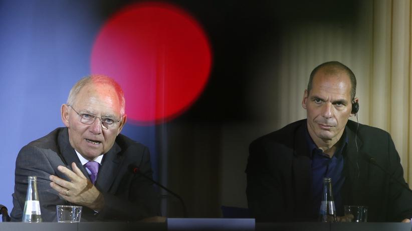 Griechenland und Deutschland: Wirtschaft, Griechenland und Deutschland, Nationalismus, Euro-Zone, Wolfgang Schäuble, Griechenland, Alexis Tsipras, Euro-Krise, Finanzminister, Yanis Varoufakis, Europa