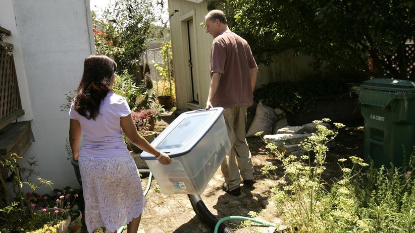 Kredit: Ein Paar in Richmond, Kalifornien, auf dem Höhepunkt der Subprime-Krise vor einigen Jahren: Weil ihr Haus so stark an Wert verloren hatte, mussten sie ihre Hypothek aufgeben und ausziehen.