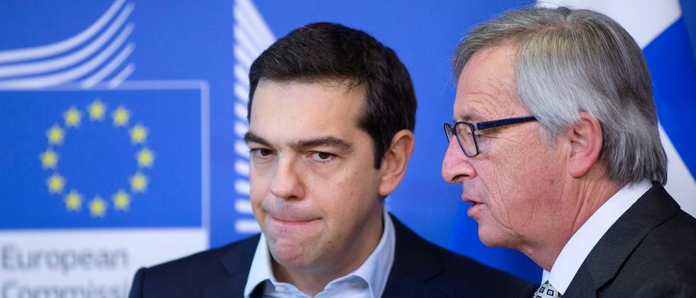 Alexis Tsipras Jean-Claude Juncker Eurogruppe