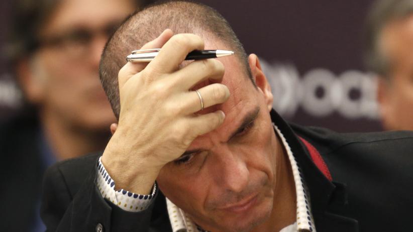Schuldenkrise: Der griechische Finanzminister Yanis Varoufakis (Archiv)