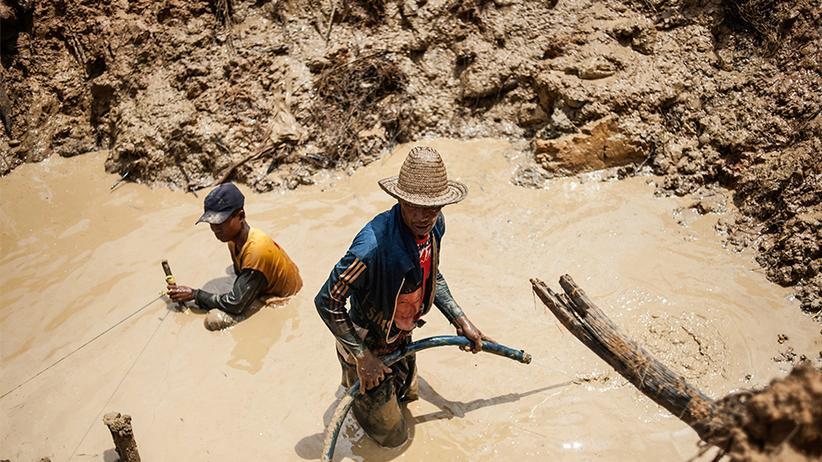 Indonesien: Die Diamantenschürfer von Banjarbaru