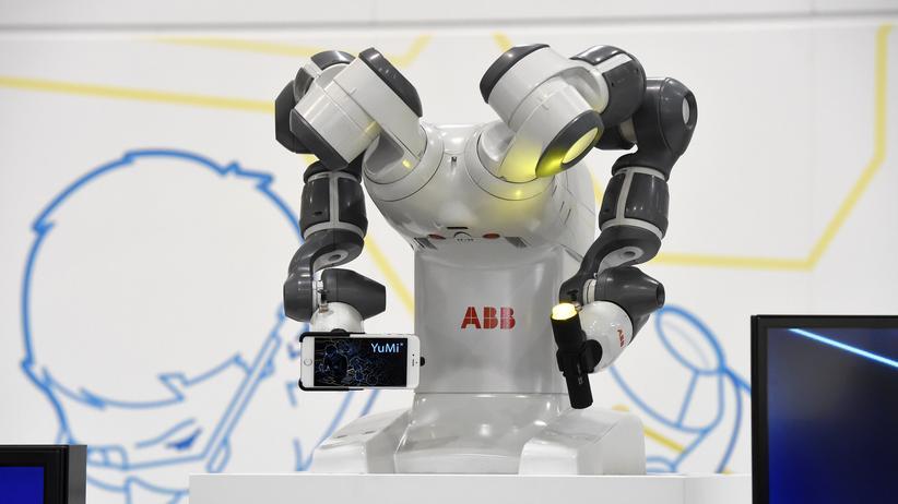 Digitalisierung: Wirtschaft, Digitalisierung , Digitalisierung, Arbeitsmarkt, Roboter, Industrie, Hannover Messe