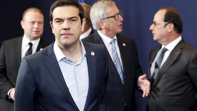 Griechenland: Alexis Tsipras in Brüssel: Der griechische Ministerpräsident glaubt an eine Einigung mit den Europartnern.
