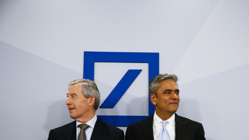 """Deutsche Bank: Jain und Fitschen verteidigen """"klare Strategie"""""""