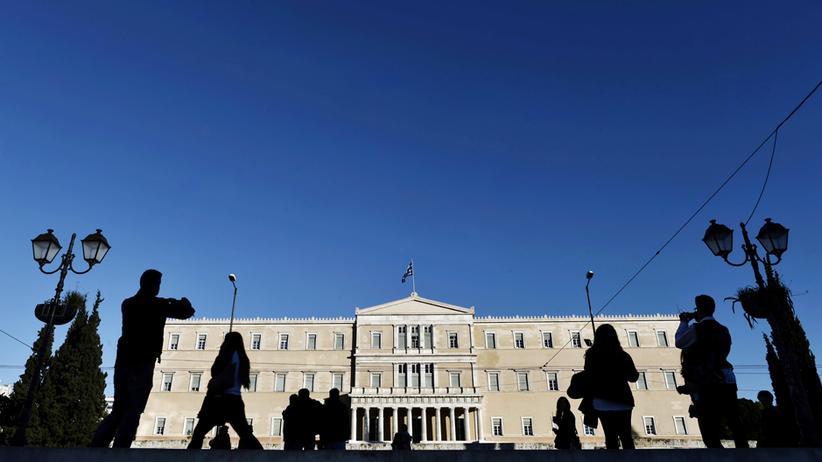 Eurokrise: Das Parlamentsgebäude in Athen