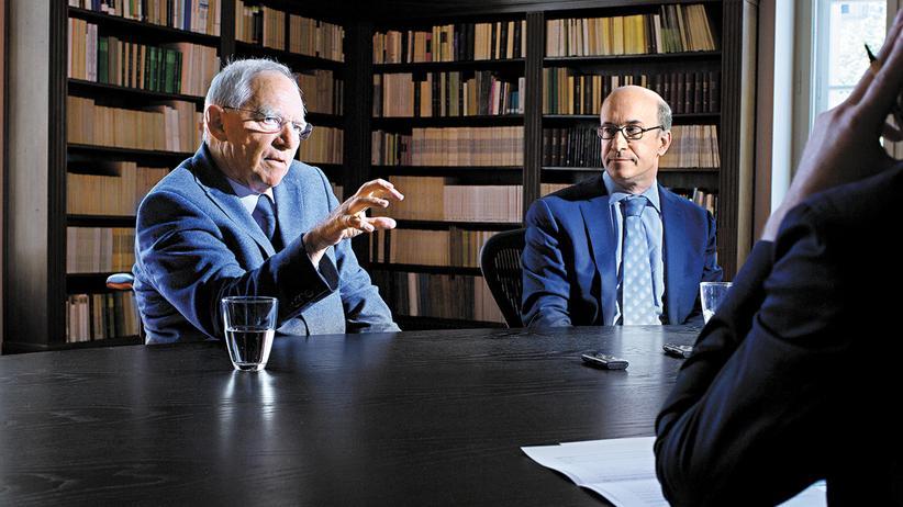 Wolfgang Schäuble und Kenneth Rogoff
