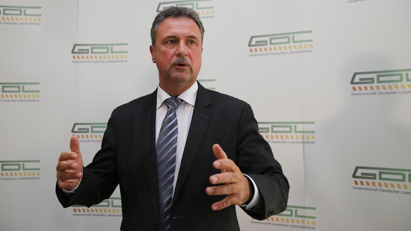 GDL-Chef: Weselsky droht mit gut gefüllter Streikkasse