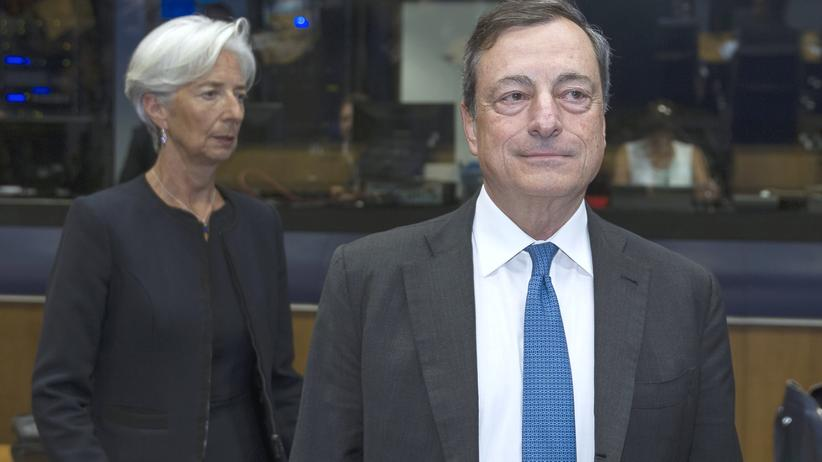 Draghi EZB Lagarde IWF
