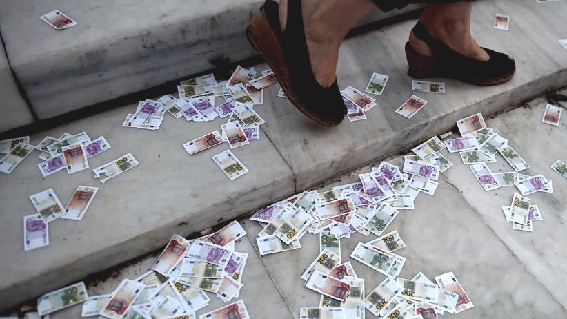 Wirtschaft, Die Zukunft des Euro, Euro, Europa, Angela Merkel, Griechenland, Währungsunion, Athen