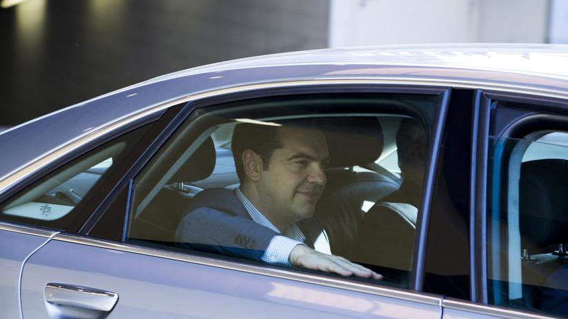 Der griechische Regierungschef Alexis Tsipras in Brüssel