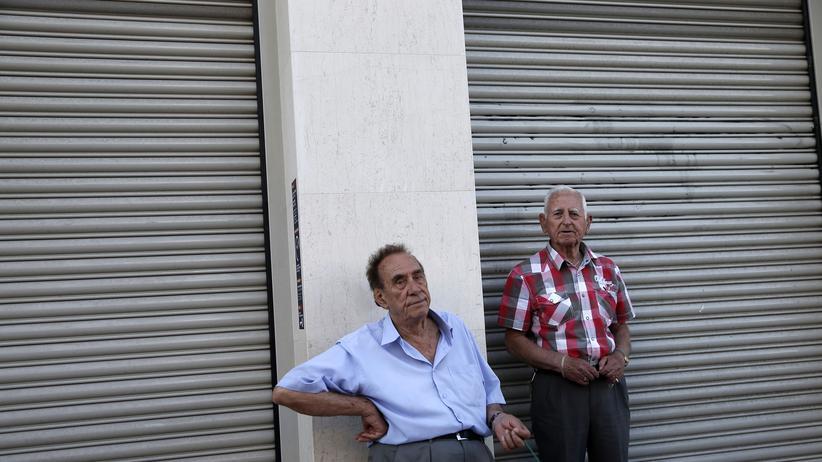 Straßenszene in Athen