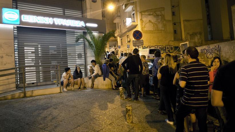 Griechenland Banken Bankrun