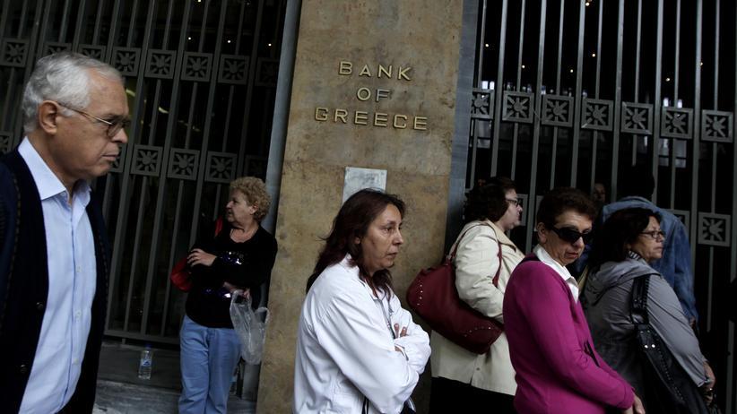 Griechenland: Vom Euro erschlagen