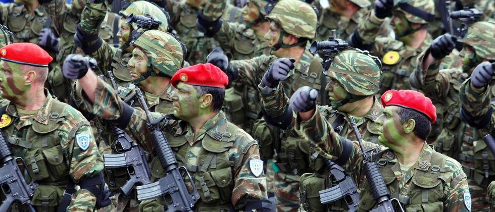 Griechenland Armee Soldaten