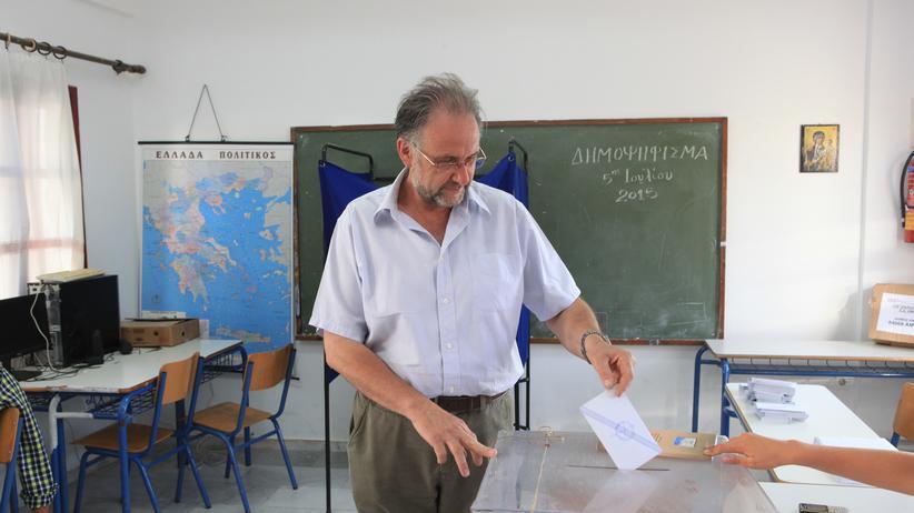 Griechenland: Der Geldbote von Amorgos