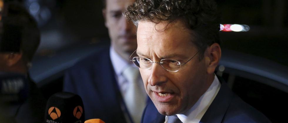 Jeroen Dijsselbloem berichtet von schwierigen Verhandlungen.