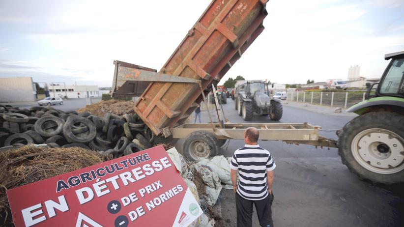 Frankreich: Französische Bauern blockieren Grenze zu Deutschland